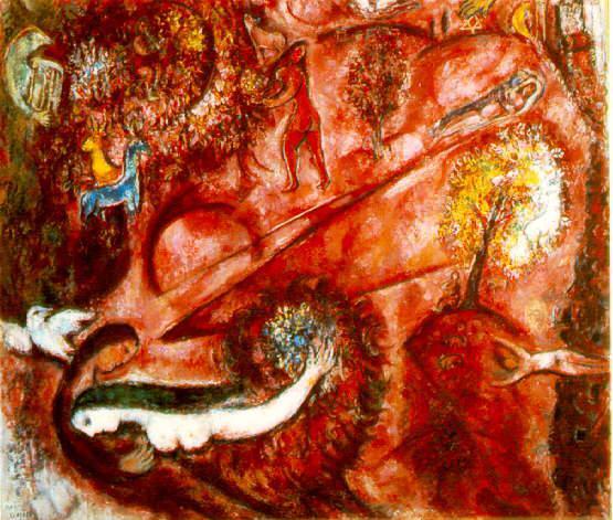 cantico chagall