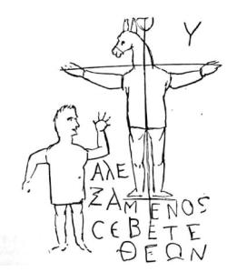 Alexamenos_trazo
